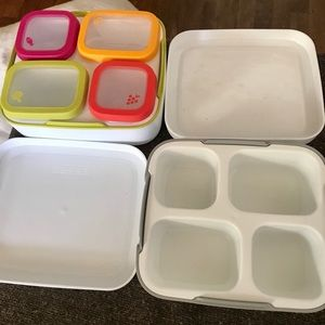 Set of Two Lunch Containers